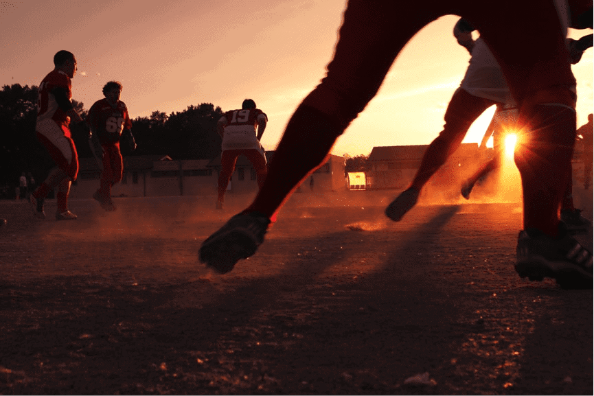 FootballSunset
